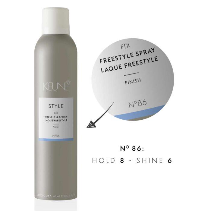 page hero 1920x1420 medium-Keune-Style-Fix-No86-Freestyle-Spray-300ml-API1